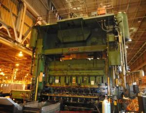 1,000 Ton Capacity Verson Straight Side Press For Sale
