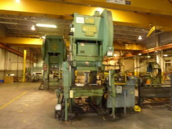 150 Ton Bliss Press C-150 OBI For Sale