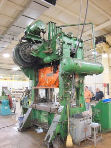 150 Ton Clearing Press - Straight Side Press