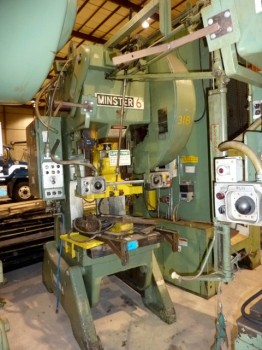 60 Ton Minster Press OBI For Sale