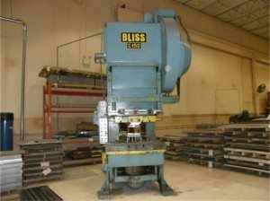 150 Ton Bliss OBI Press Model C-150 For Sale
