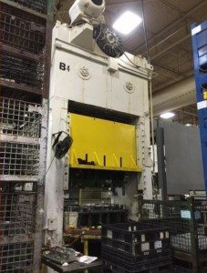 250 Ton Capacity Danly Straight Side Press For Sale 2