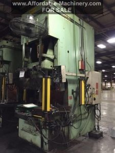 220 Ton Capacity Aida Single Point Gap Press For Sale (2)