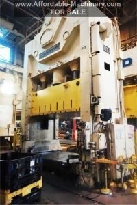 USI Clearing 600 Ton Stamping Press For Sale
