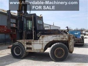 40000lb Apache Forklift For Sale Used http://affordable-machinery.com/?p=9723