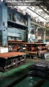 1,200 Ton Capacity Fukui 4-Point Transfer Press For Sale