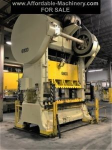 ​300 Ton Capacity Minster Straight Side Press For Sale