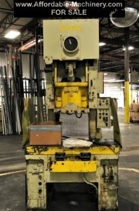 60 Ton Capacity Aida Gap Frame Press For Sale - Used