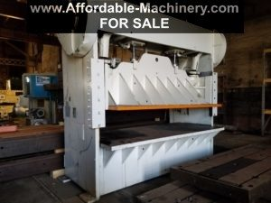 100 Ton Capacity D & K Straight Side Press For Sale
