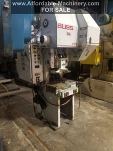 22 Ton Capacity Bliss O.B.I. Press