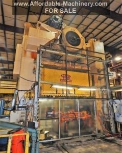Danly 1600 Ton Straight-Side Press For Sale - Used